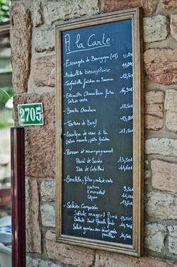 Découvrez le menu du Café de la Gare !