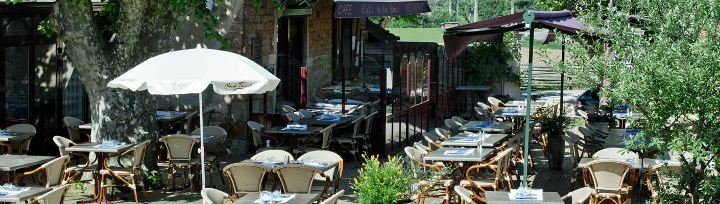 Les plus belles terrasses de Bourgogne du sud !